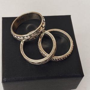 Brighton Set of 3 Rings
